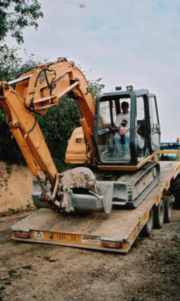 Remorque agricole, essieux centraux