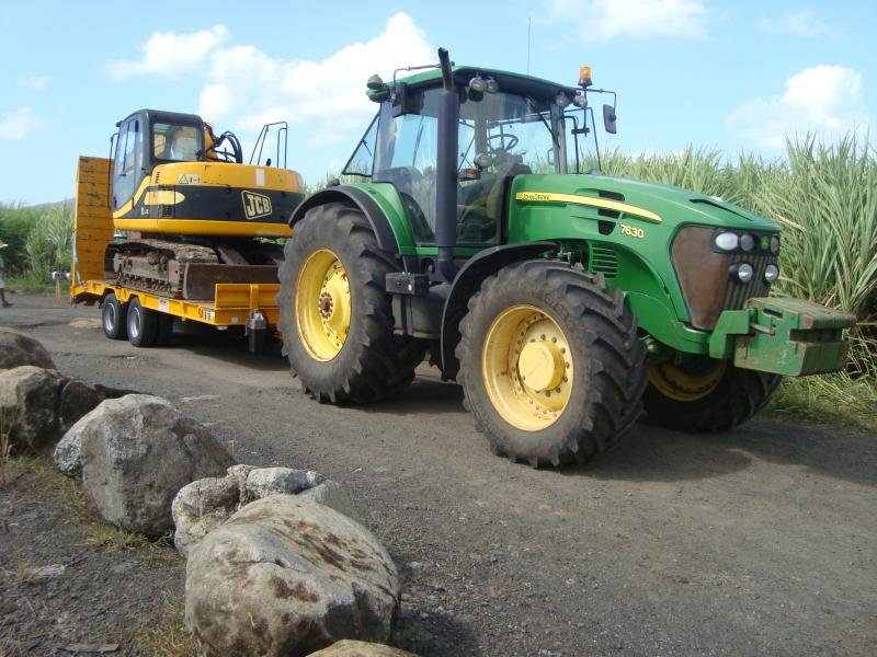 Remorque agricole 2 essieux centraux